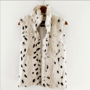🌺Maxmara weekend fur rabbit vest
